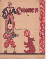 Protège Cahier Couverture Clowns- - Protège-cahiers