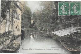 Longueville NA1: Dépendances Du Château De Besnard 1911 - Autres Communes