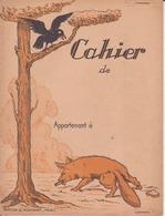 Protège Cahier - Fable De La Fontaine - Protège-cahiers