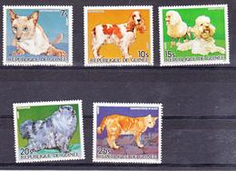 Guinée 776 780 Chiens Et Chats Neuf ** TB MNH SIN CHARNELA - Guinée (1958-...)