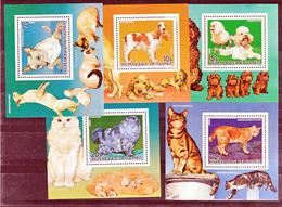 Guinée 776 780 Chiens Et Chats Feuillets Neuf ** TB MNH SIN CHARNELA - Guinée (1958-...)