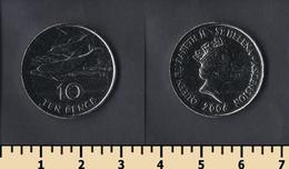Saint Helena And Ascension Island 10 Pence 2006 - Saint Helena Island