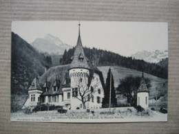 YVORNE  -  LES CHATEAUX  VAUDOIS  , LA MAISON BLANCHE             TTB - VD Vaud