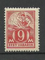 Estonia 1923 Michel 38 A * - Estonie