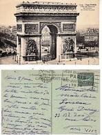 Flamme Jeux Olympiques 1924 Paris XVI Place Chopin 26/6/24 Frappe Superbe Semeuse - Mechanical Postmarks (Advertisement)