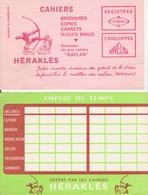 "Buvards ""héraclès"" Dont 1 Emploi Du Temps - Buvards, Protège-cahiers Illustrés"