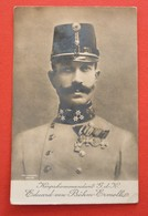 AUSTRIA - KORPSKOMMANDANT EDUARD VON BOHM-ERMOLLI , BORN IN ANCONA 1856 - DIED IN OPAVA CZECHIA 1941 - War 1914-18