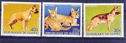 Guinée PA 185 187 Chiens Et Chats  Neuf ** TB MNH SIN CHARNELA - Guinée (1958-...)