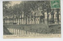 """MEAUX (environs) - Parc Aérostatique De BEAUVAL - Hangar Du Dirigeable """"COLONEL RENARD """" Et Le Canal Alimentant L'Usine - Meaux"""