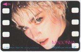 JAPAN I-757 Magnetic NTT [110-28362] - Musician, Madonna - Used - Japan