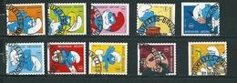 (VD) Zegel 3814 - 3823 Gestempeld - Belgium