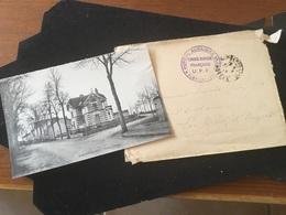Rambervilliers Route D Épinal Vendu Avec Sa  Lettre Cachet Hôpital Auxiliaire 1917 - Rambervillers