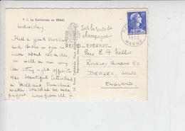 """FRANCIA  1958 - Annullo Meccanico """"CHAMPAGNE"""" - Vini E Alcolici"""