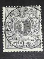 COB N ° 43 Oblitération Herck-la-Ville 1893 - 1884-1891 Léopold II