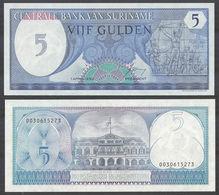 SURINAME - 5 Gulden 01.04.1982 UNC P.125 - Surinam