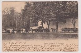 Breda - Buiten Manege K.M. Academie - 1902 - Breda