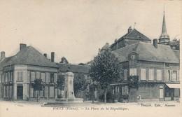 CPA - France - (89) Yonne - Toucy - La Place De La République - Toucy