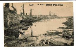 CPA - Carte Postale -BELGIQUE - Ieper - Rempart De La Porte De Menin-1922  VM533 - Ieper