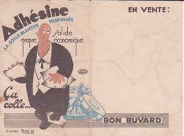 "Buvard ""Adhésine- Colle Blanche Parfumée"" - Buvards, Protège-cahiers Illustrés"