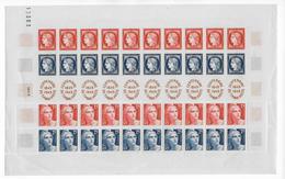 CENTENAIRE DU TIMBRE - 1949 - YVERT N° 1321 ** MNH En FEUILLE COMPLETE De 10 BANDES - COTE = 200 EUR++ - Feuilles Complètes