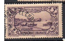LIBANO FRANCOBOLLO N. 142 CATALOGO Y & T - Oblitérés