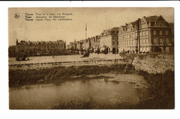 CPA - Carte Postale -BELGIQUE - Ieper - Place De La Gare  VM535 - Ieper
