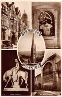 Greetings From Coventry Lady Codiva Peeping Tom St Mary's Hall Postcard - Autres