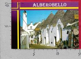 CARTOLINA VG ITALIA - ALBEROBELLO (BA) - Scorcio Caratteristico - 10 X 15 - ANN. 1986 - Bari