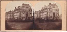 PARIS -- Place St Michel - Vue Stèrèoscopique - Arrondissement: 06