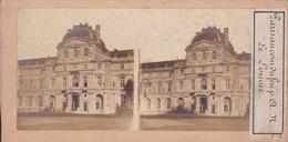 PARIS -- Le LOUVRE - Vue Stèrèoscopique - Arrondissement: 01