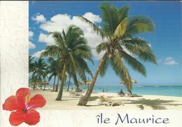 """Ile Maurice - Flic En Flac - Photo J.C. Nourault - Timbre De 2000 """"Rs5"""" Poisson - Maurice"""