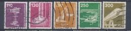 Duitsland/Germany/Allemagne/Deutschland 1982 Mi: 1134-1138 Yt:  (Gebr/used/obl/o)(4130) - [7] West-Duitsland