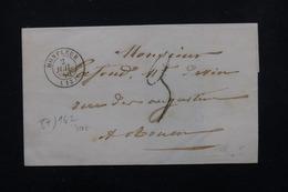 FRANCE - Lettre De Honfleur Pour Rouen En 1846 - L 22621 - 1801-1848: Precursors XIX