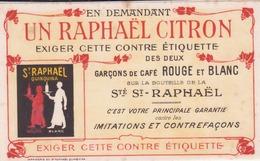 """Buvard """"St Raphaël"""" - Liqueur & Bière"""