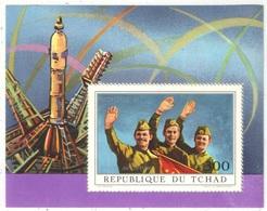 Tchad - Blocs - YT 9-10 ** - 1972 - Soyouz 11 - Space
