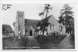 Effingham - Church Of St. Lawrence - Surrey