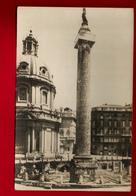 Jolie CP Photo Italie Roma Rome Colonna Traiana - Photographe Ernesto Richter - Cp Pas écrite - Altri Monumenti, Edifici