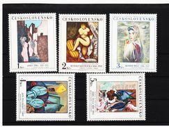 ORY04 TSCHECHOSLOWAKEI 1982 MICHL  2692/96 ** Postfrisch Siehe ABBILDUNG - Tschechoslowakei/CSSR