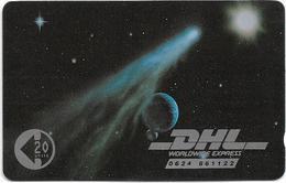 Isle Of Man - Courrier Services - DHL Space - 8IOMB - 1990, 3.000ex, Mint No Blister - Isla De Man