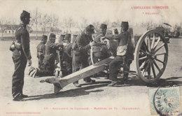 L Artillerie Francaise Arillerie De Campagne Materiel De 75 Chargement (LOT AE21) - Equipment