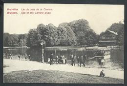 +++ CPA - BRUSSEL - BRUXELLES - Lac Du Bois De La Cambre  // - Bossen, Parken, Tuinen