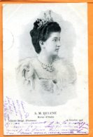 Man940, Reine D'Italie, S. M. Helene, Italia, Cliché Brogi , Précurseur, Circulée 1903 - Case Reali