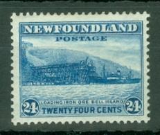 Newfoundland: 1932/38   Pictorial  SG228     24c      MH - Newfoundland