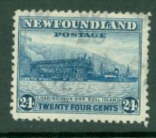 Newfoundland: 1932/38   Pictorial  SG228     24c      Used - Newfoundland