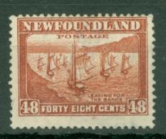 Newfoundland: 1932/38   Pictorial  SG228c     48c      MH - Newfoundland