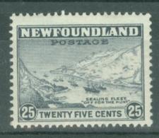 Newfoundland: 1932   Pictorial  SG219     25c      MH - Newfoundland