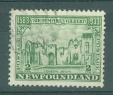 Newfoundland: 1933   350th Anniv Of Humphrey Gilbert's Annexation  SG237   2c    Used - 1908-1947