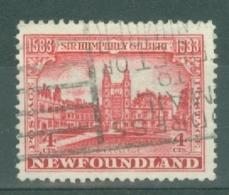 Newfoundland: 1933   350th Anniv Of Humphrey Gilbert's Annexation  SG239   4c    Used - Newfoundland