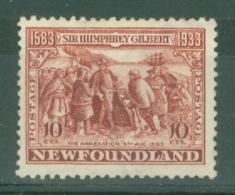 Newfoundland: 1933   350th Anniv Of Humphrey Gilbert's Annexation  SG244   8c    MH - Newfoundland