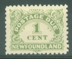 Newfoundland: 1939/49   Postage Due   SG D1   1c   MH - Newfoundland